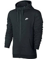 Толстовка Nike M NSW HOODIE FZ FT CLUB 804391-010 (Оригинал)