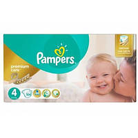 Подгузники Pampers Premium Care - 4 Maxi (8 - 14 кг.) 104 шт. (Mega Box)
