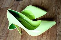 Туфли лодочка (Салатовый)