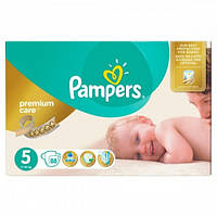 Подгузники Pampers Premium Care - 5 Junior (11 - 18 кг.) 88 шт. (Mega Box)