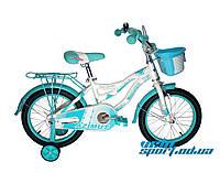 Детский велосипед для девочки Azimut Kiddy (16 дюймов)