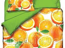 Комплект постельного белья  Class евро размер Orange