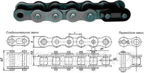 Цепь ПР-25.4-6500 (3.05) Renolds SD 80H-1(16AH-1)