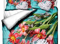 Комплект постельного белья  Class евро размер Margarit