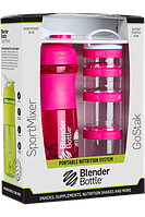 Шейкер BlenderBottle Sportmixer розовый 760 мл pink/розовый