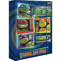 Папка для труда картонная «Ninja Turtles» 1 Вересня 491293, А4