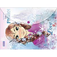 Папка - конверт на кнопке А4 «Frozen» 1 Вересня 491216