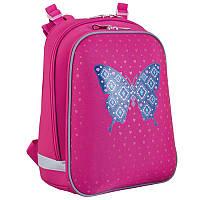 Рюкзак школьный каркасный 553395 H-12 «Centre butterfly» 1 Вересня