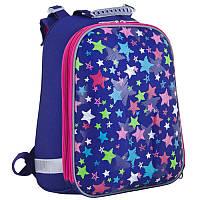 Рюкзак школьный каркасный 553385 H-12 «Stars» 1 Вересня