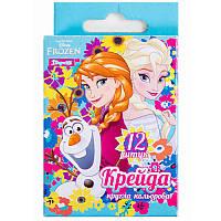 Набор цветных мелков «Frozen» 1 Вересня 400160, 12 штук