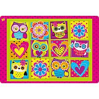 """Подложка для стола детская 491138 """"Owl"""" 1 вересня, 42,5х29 см"""