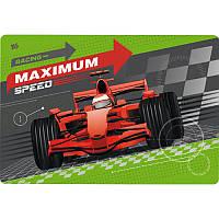 """Подложка для стола детская """"Maximum speed"""" 42,5х29 см, 491244 1 вересня"""