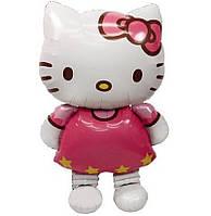 Шар фольгированный Hello Kitty (Хелло Китти) 116х65 см