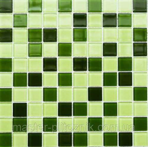 Мозаика Leo Ceramica стеклянная green