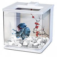 Hagen аквариум для петушка Betta Kit EZ Care 2.5л белый