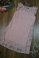 Однотонное летнее женское платье прямого кроя  Italy, фото 1
