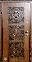 Входная дверь для коттеджа (два  контура) модель Алмаз