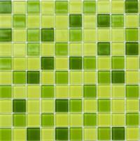 Мозаика Leo Ceramica стеклянная Lime