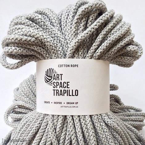 Шнур для вязания Art Space Trapillo, Светло-серый