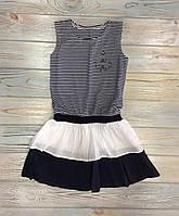 Сарафан Турция в полоску (92, 98, 104, 110 см) - 92 см, летняя одежда на девочку на 2 года