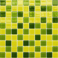 Мозаика Leo Ceramica стеклянная Lime yellow