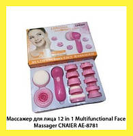 Массажер для лица 12 in 1 Multifunctional Face Massager CNAIER AE-8781!Опт
