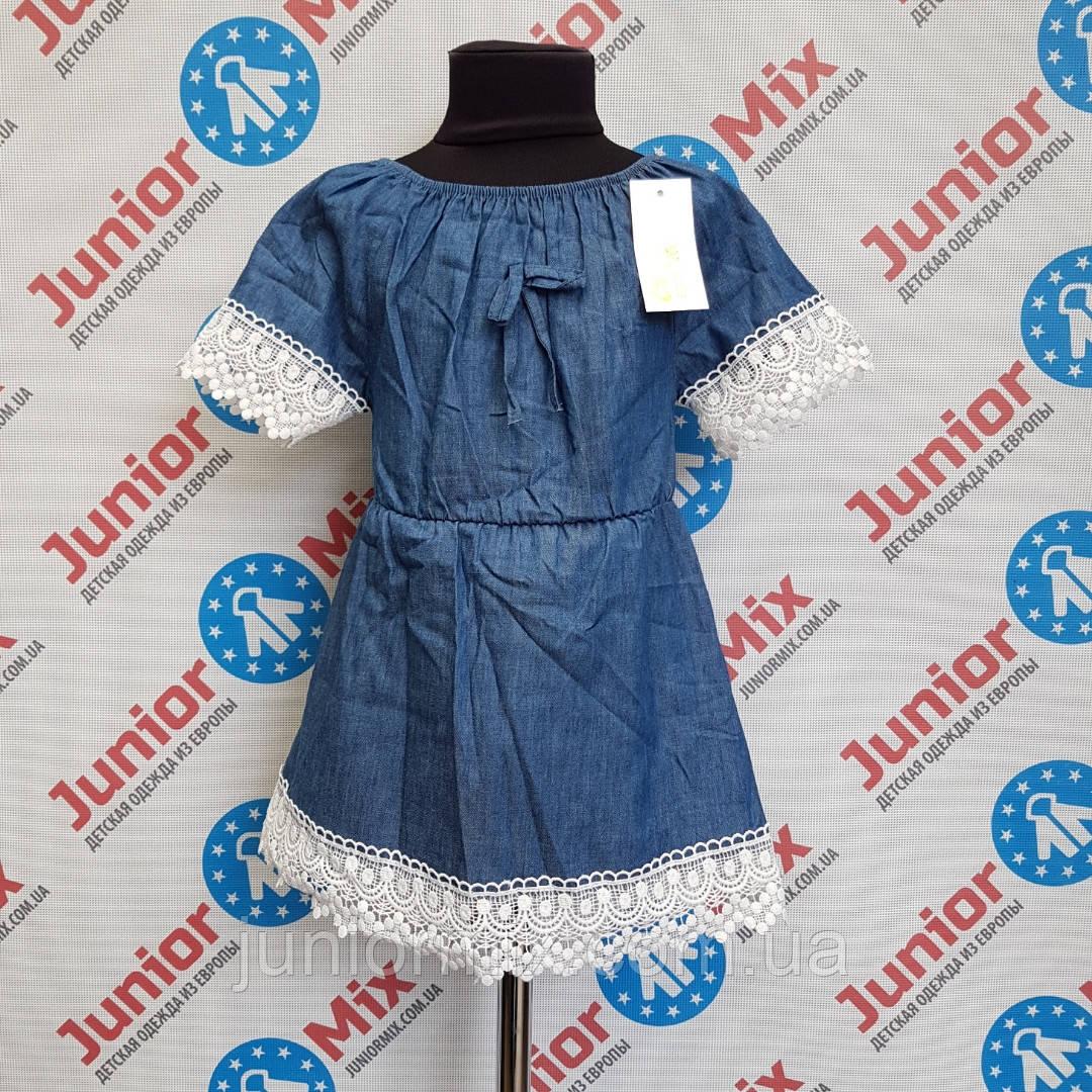 Платье  котоновое на девочку B.B.W