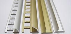 Профіль алюмінієвий для плитки