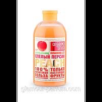 """Шампунь для волос """"Спелый персик Увлажнение и заряд витаминов"""" Organic shop Фрукты"""