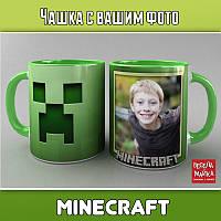 Чашка с фото Minecraft