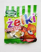 Жувальні цукерки з кислинкою Zelki Kwasne , 80 гр