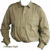 Рубашка с длинным рукавом британской армии, хаки