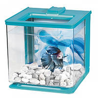 Hagen аквариум для петушка Betta Kit EZ Care 2.5л голубой
