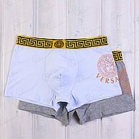 Трусы-шорты транки мужские с принтом Versace TRK-075