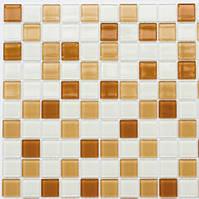 Мозаика Leo Ceramica стеклянная Honey white