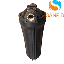 """Посилений фільтр-колба для гарячої води BIO+ systems HT-10 1/2"""" (ключ, планка)"""