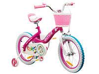 """Детский велосипед Royal Baby Candy Steel 16"""" розовый"""