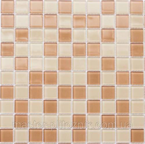 Мозаика Leo Ceramica стеклянная Beige