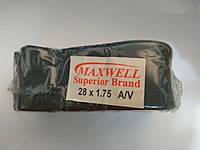 Велосипедная камера 28*1,75 Maxwell
