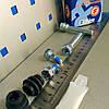 Ремкомплект направляющих и пыльников суппорта Geely MK1/ MK2/ MK-Cross/ BYD F3 (Autofren Испания)