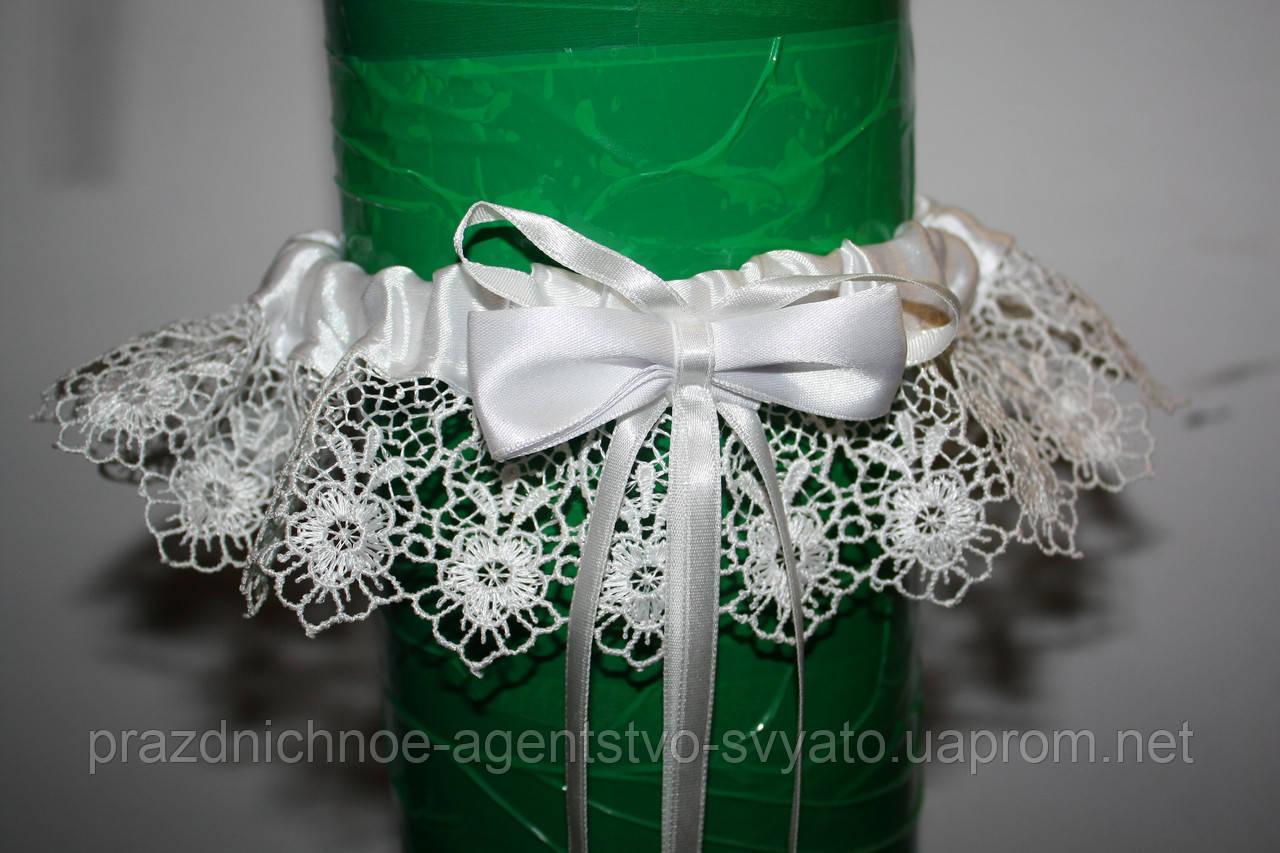 Подвязка на ногу для невесты