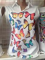 Летная блузка женская