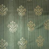 Штора зеленая, фото 1