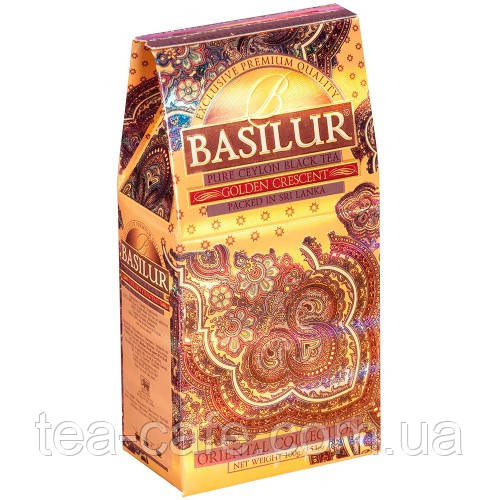 Чай чорний Basilur Східна колекція Золотий місяць картон 100г