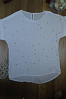 Женская блуза с бусинками  Italy, фото 1