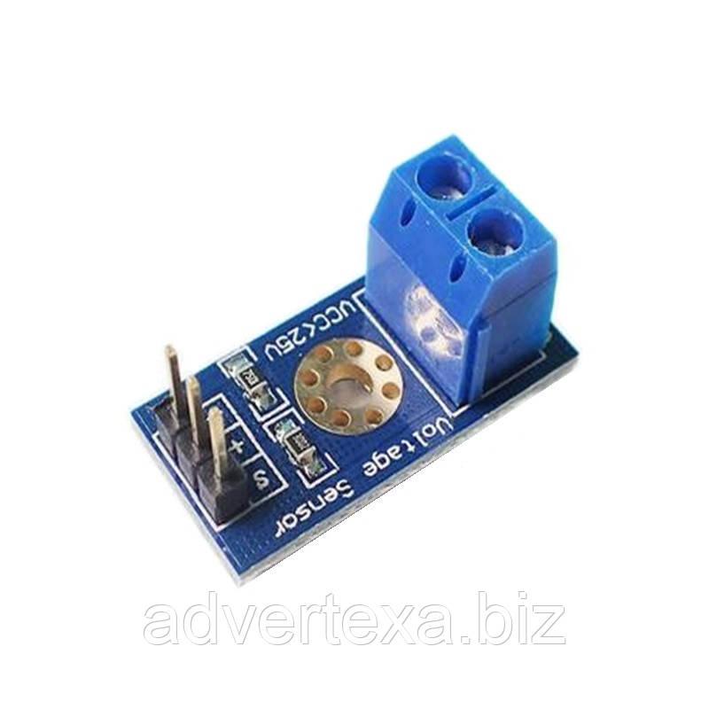 Модуль датчик напряжения DC 0-25V для Arduino