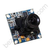 Видеокамера ZB-B400 черно-белая бескорпусная для видеонаблюдения
