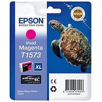 Epson T1573 Картридж Vivid Magenta (Красный) (C13T15734010)