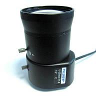 Об'єктив KK08V50DC-MP мегапіксельний з автодіафрагмою для відеоспостереження