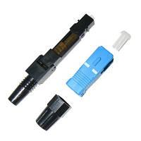 Разъем для быстрого монтажа на кабель с одномодовым оптическим волокном Fast connector SC/UPC-FTTH-02